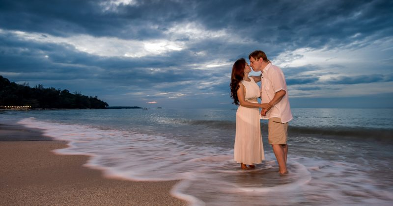 Honeymoon photography Khao Lak Beach