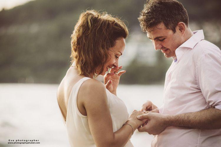 Surprise marriage proposal phuket photography